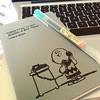 """Forgetting is not always a bad thing"" -Charlie Brown #peanuts #moleskine #calender #todo #muji #grey #writingislife #worthit"