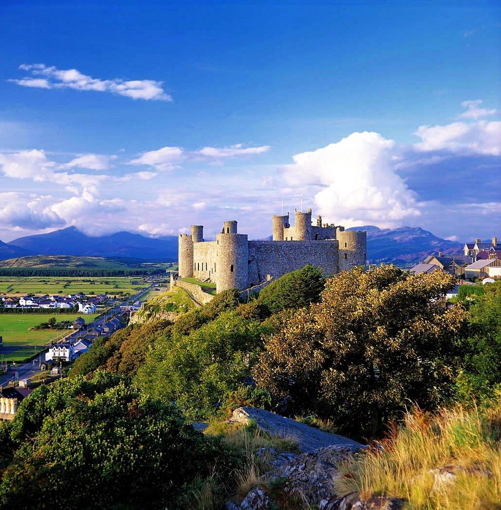 Harlech Castle. Credit Parc Cenedlaethol Eryri