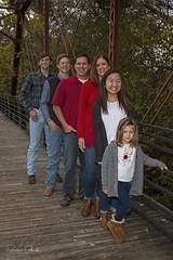 Mark's Family on Bridge