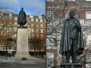Immagine di Franklin Delano Roosevelt. london december 2016 franklindelanoroosevelt grosvenorsquare statue fdr franklindroosevelt