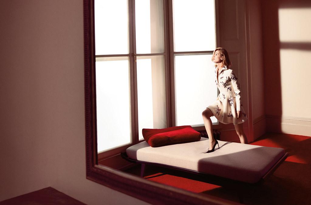 Розамунд Пайк — Фотосессия для «Dior» 2016 – 1
