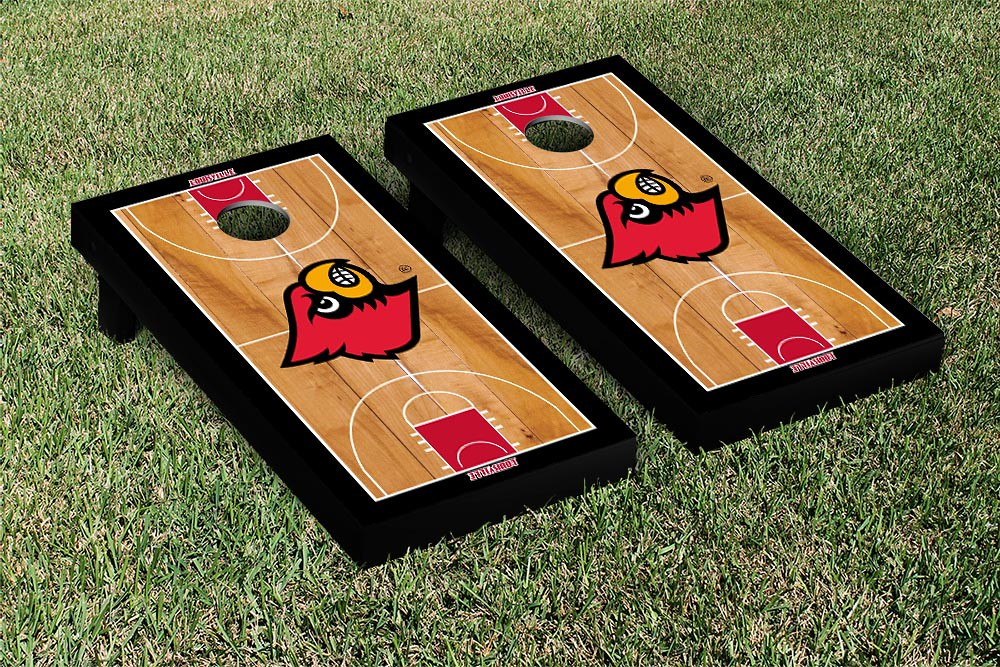 Louisville Cardinals Basketball Court Version