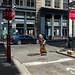 New York City Street Scenes - Corner of Jersey Street and Crosby Street in Soho by Steven Pisano