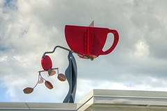 Coffe By Design - Weather Vane Art Sign