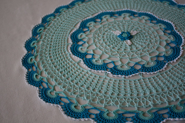 Lacy Scallops Doily