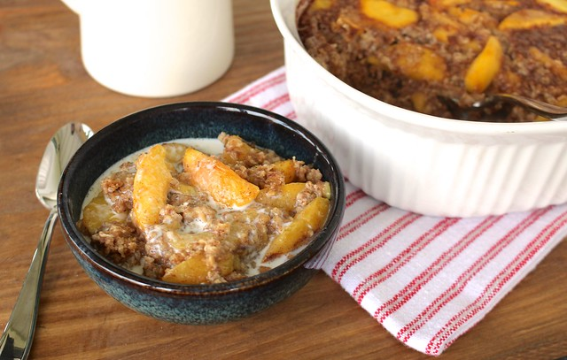peaches-and-cream-baked-oatmeal