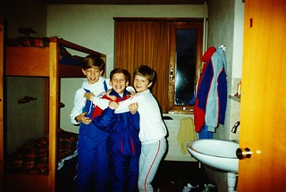 Switzerland   -   Ski Trip   -   Jeb, Charlie & Taylor    -   December 1987