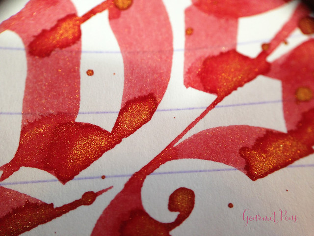 Ink Shot Review Diamine Red Lustre (8)