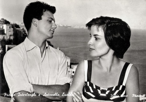 Franco Interlenghi and Antonella Lualdi