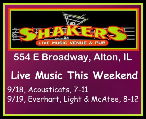 Shakers 9-18, 9-19-15