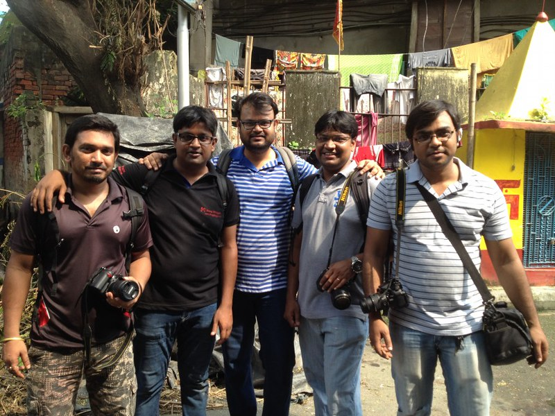 Kolkata Walks Team - During Kumortuli Photo Walk