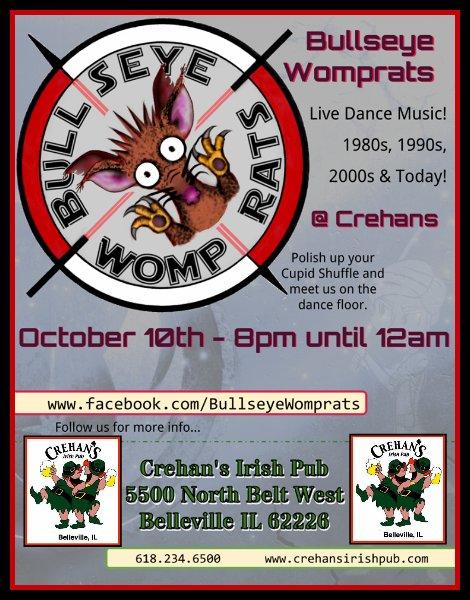Bullseye Womp Rats 10-10-15