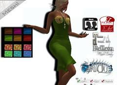 ~Uni-qu3~lunar corset dress hud