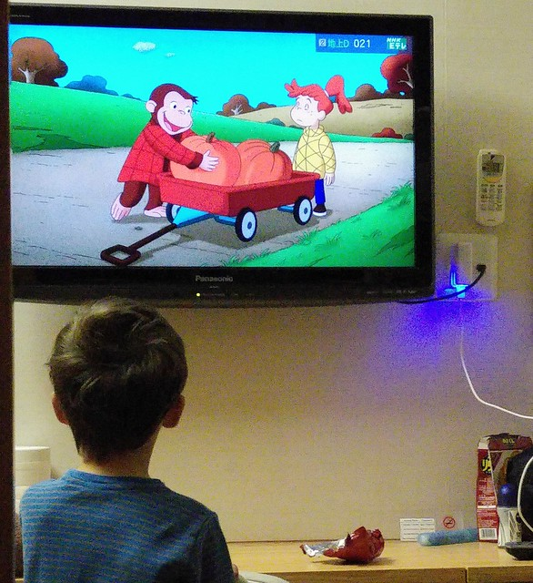 I thought we were finally going to get going, then Curious George started.