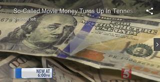 Movie Money Spent in Tennessee