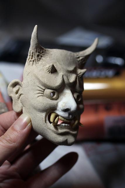 WIP Hannya mask