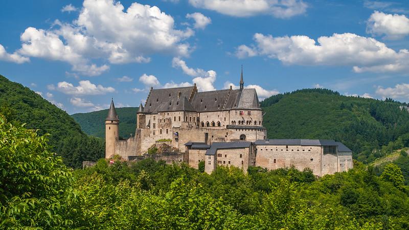 Kasteel Vianden - Vianden - Diekirch - Luxemburg