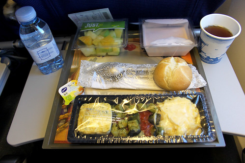 Airplane Breakfast