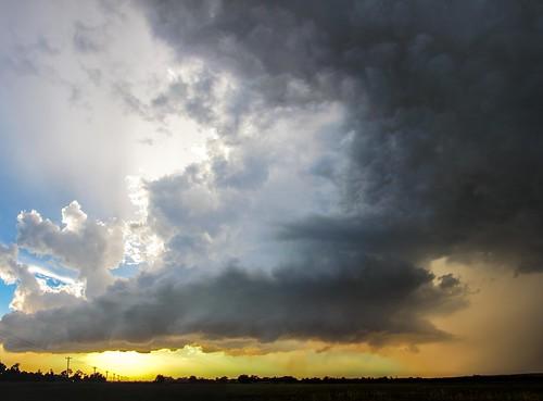 082715 - Last Nebraska Supercell of the Summer (Pano)