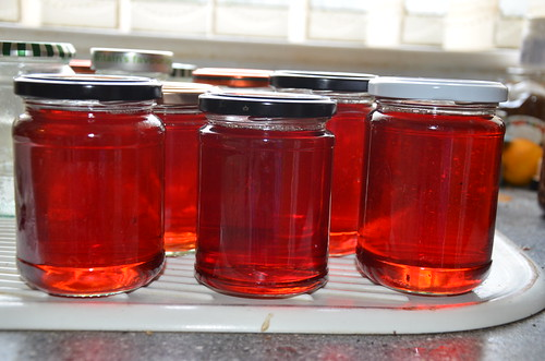 crab apple jelly Oct 15