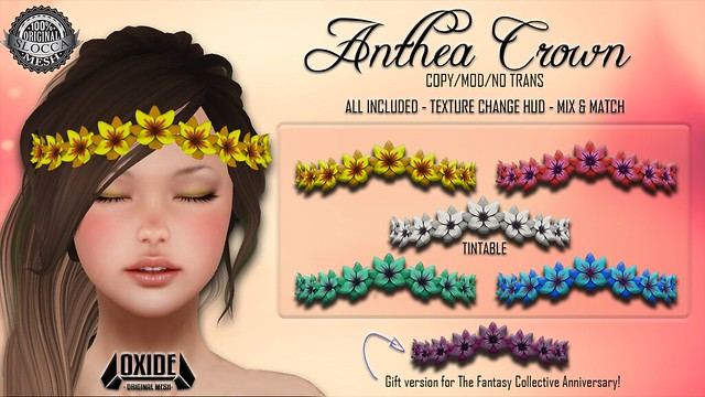 OXIDE Anthea Crown @ The Fantasy Collective