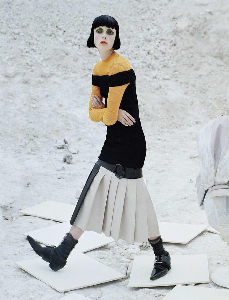 Эди Кэмпбелл — Фотосессия для «Vogue» IT 2015 – 12