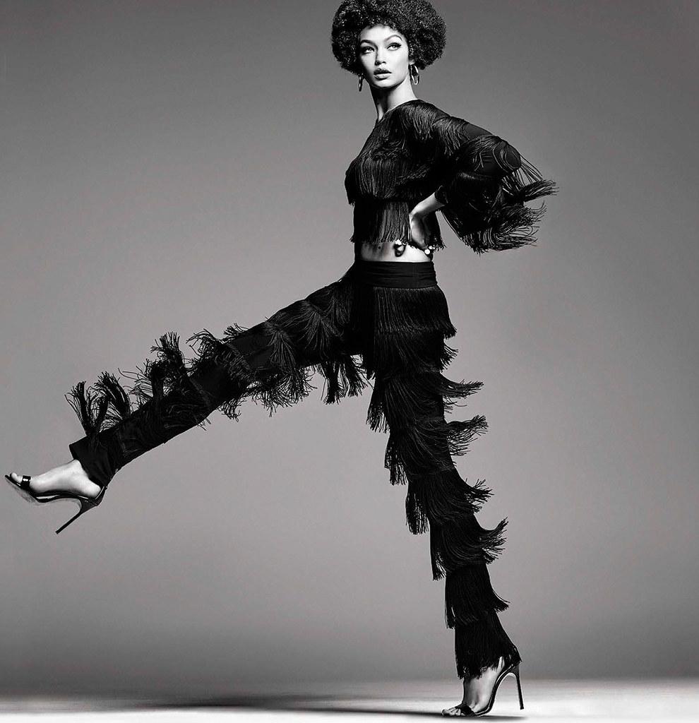 Джиджи Хадид — Фотосессия для «Vogue» IT 2015 – 4