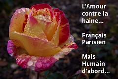 Un cri d'Amour contre l'horreur...  A cry of Love against the horror... #Darktable #FujiX-S1 #ParisAttacks