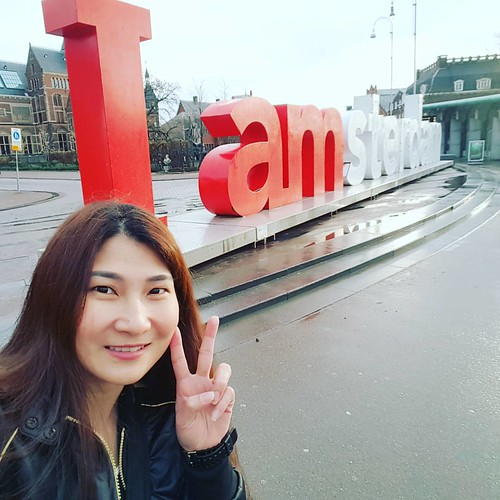 Last morning in Amsterdam where I had the rare opportunity to have the entire sign to myself! #iamsterdam #amsterdam #cherieladiegoesamsterdam #cherieladietravels #cherieladieadventure #touristythings #netherlands