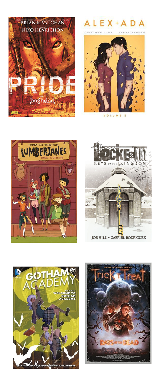 October 2015 Bookshelf