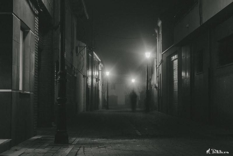 Santa Maria del Páramo: Noche de Niebla
