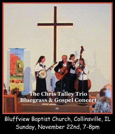 Chris Talley Trio 11-22-15