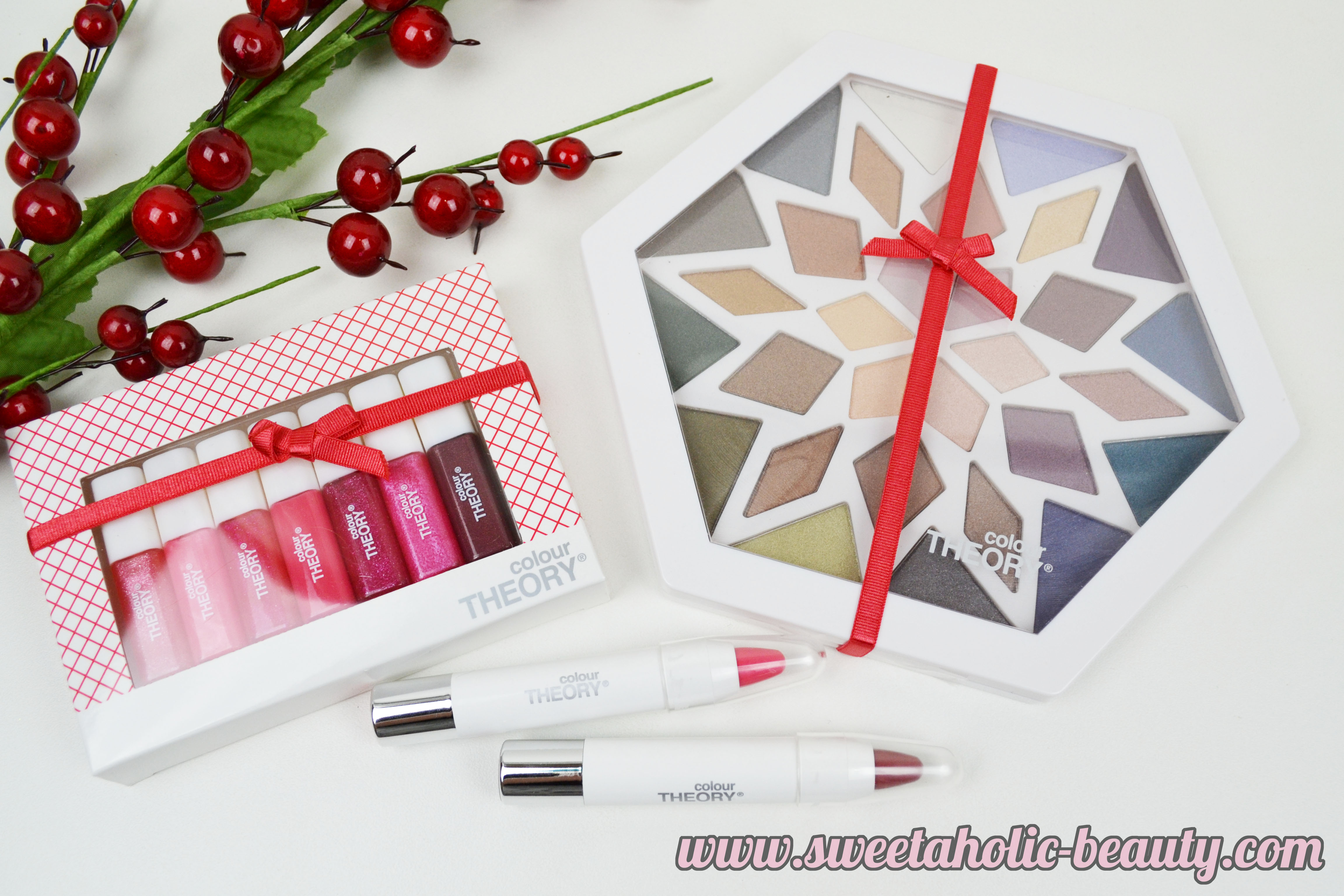 Christmas with Colour Theory - Sweetaholic Beauty