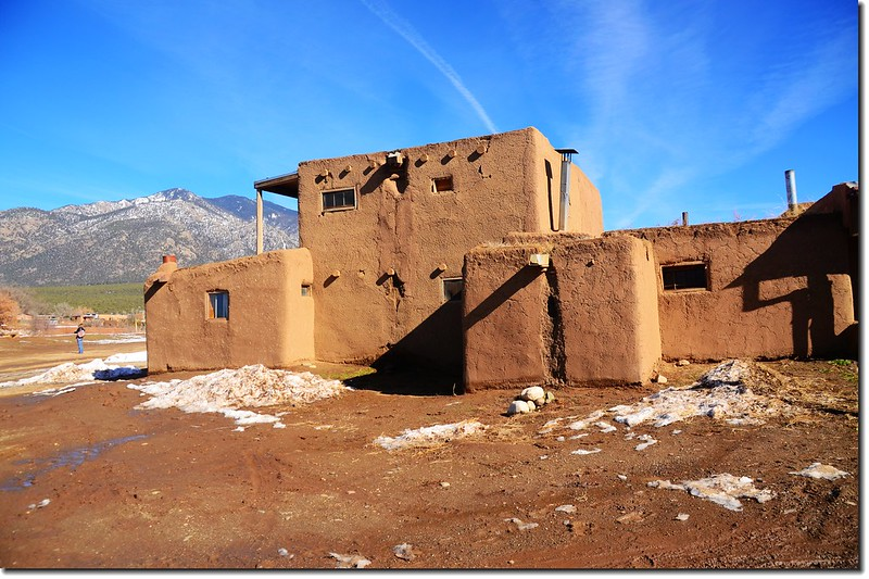Taos Pueblo Adobe House 6