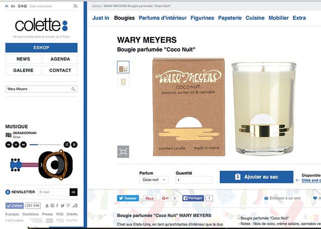 Wary Meyers Colette Paris