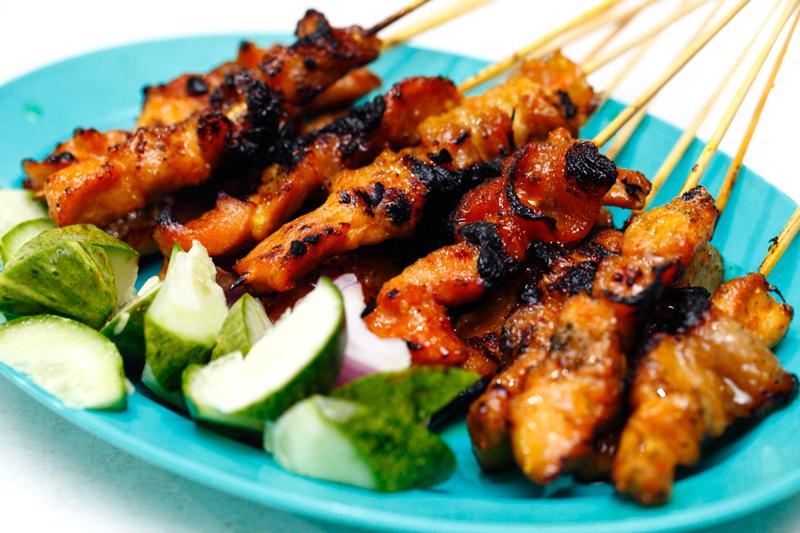 Sate Atok Chicken Satay