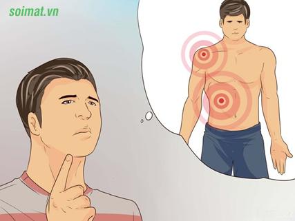 Cơn đau túi mật thường ở vùng hạ sườn phải