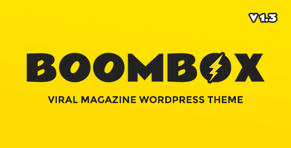 BoomBox v1.5.0 - Viral & Buzz WordPress Theme