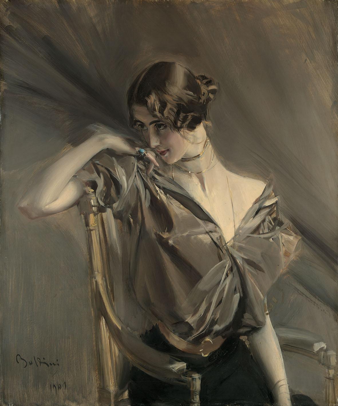 Cléo de Mérode by Giovanni Boldini, 1901