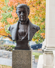 Washington Irving (1783-1859) Bust Sculpture by Edward McCartan