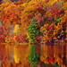 Peak Color at Hall Lake 2 (11 03 2016) by PhotoDocGVSU