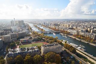 Image of Eiffel Tower near Paris 16. eiffeltower paris france fra