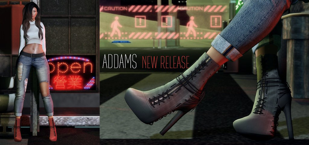 ADDAMS @ NEW Release ♥♥ - SecondLifeHub.com
