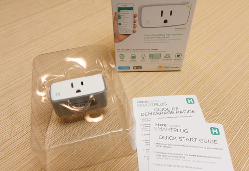 iHome smart plug for use in aquarium automation