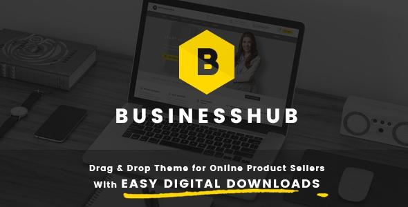 Business Hub v1.1.1 - Responsive Theme For Online Business