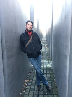 Image of Memorial to the Murdered Jews of Europe near Tiergarten. berlin germany olivierbruchez holocaustmemorial holocaustmahnmal
