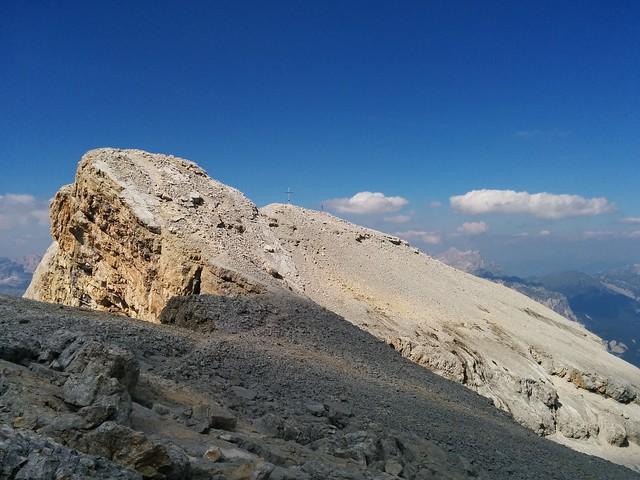 Aufstieg auf den 1. La Varella-Gipfel