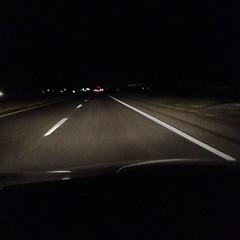 The downside of being of CoffeeKen late night driving. #coffeeken #javajourney2015 #daddyanddaughterroadtrip #roadtrips