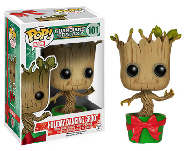 FUNKO POP! MARVEL 系列【跳舞格魯特。送禮版】Holiday Dancing Groot