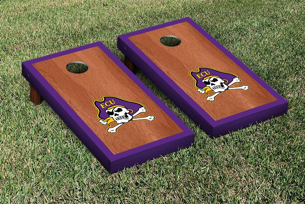 East Carolina Pirates Rosewood Border